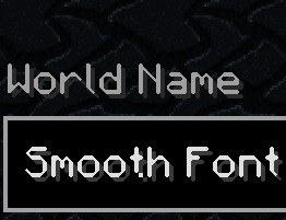 Free To Use 32x And 64x HD Fonts Minecraft Texture Pack