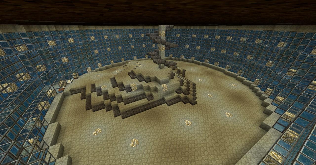 Minecraft Underwater Dome