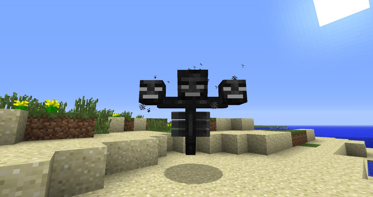 Minecraft Wither Boss Face