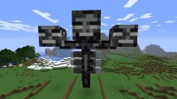 Mob Statue Wither Minecraft Project