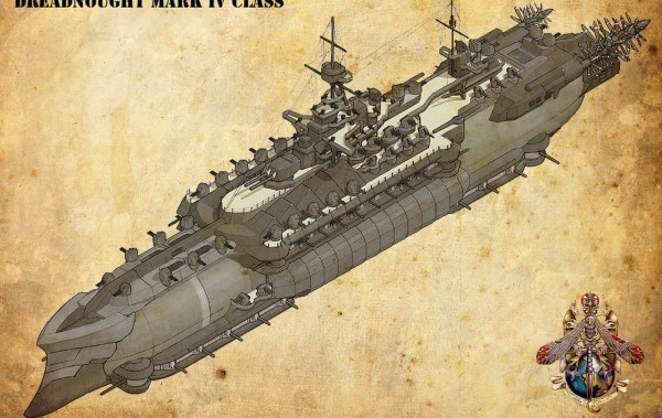 Steampunk Ish Battlecruiser Full Interior Minecraft Project