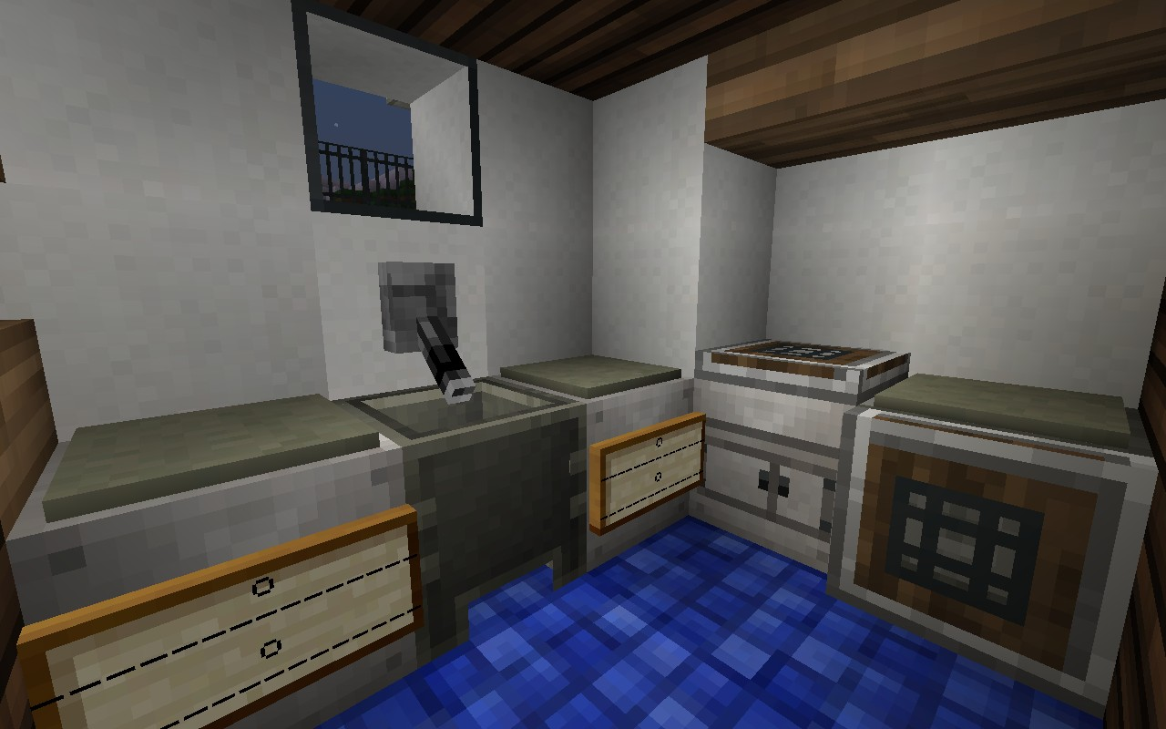 Pinewood Creek  Residence Minecraft Project