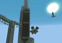 Minecraft Futuristic Tower