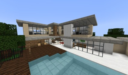 minecraft fancy modern houses roblox designs project projects architecture planetminecraft blueprints creations plans stem structure glass flooring user classroom games