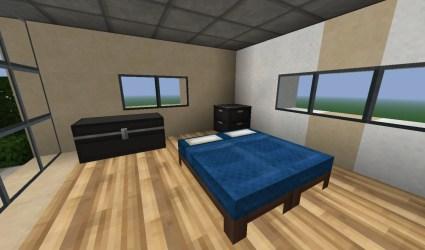 fancy modern bedroom minecraft