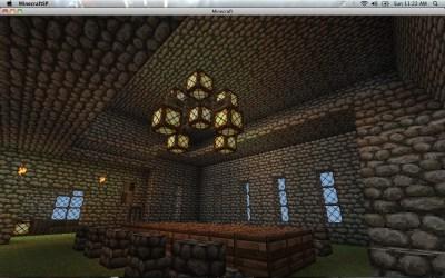 castle minecraft room dining prototype