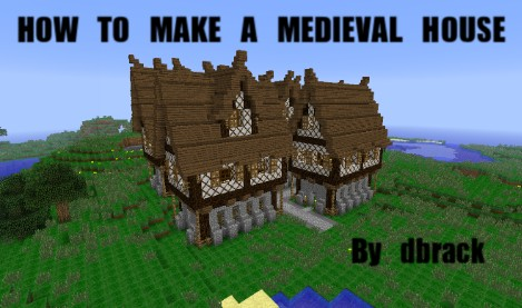 How To Build A Detailed Medieval House! Minecraft Blog