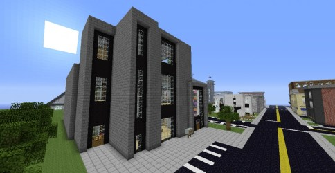 hall town courthouse minecraft map diamonds