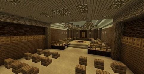 minecraft courthouse town hall project map
