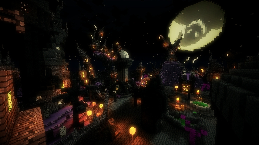 Map Christmas Town Nightmare
