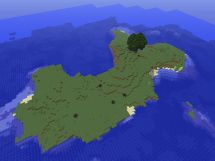 Minecraft Island Map - Year of Clean Water
