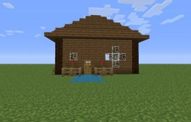 Easy Minecraft House Ideas 1