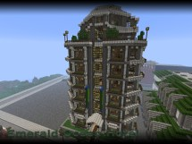 Emerald Ocean Hotel Minecraft Map