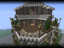 Emerald Ocean Hotel Minecraft Project