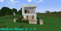 Modern House [10x10] Minecraft Project
