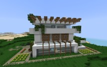 Modern Minecraft House Designs
