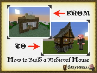 Building Making a Medieval House [EASY]