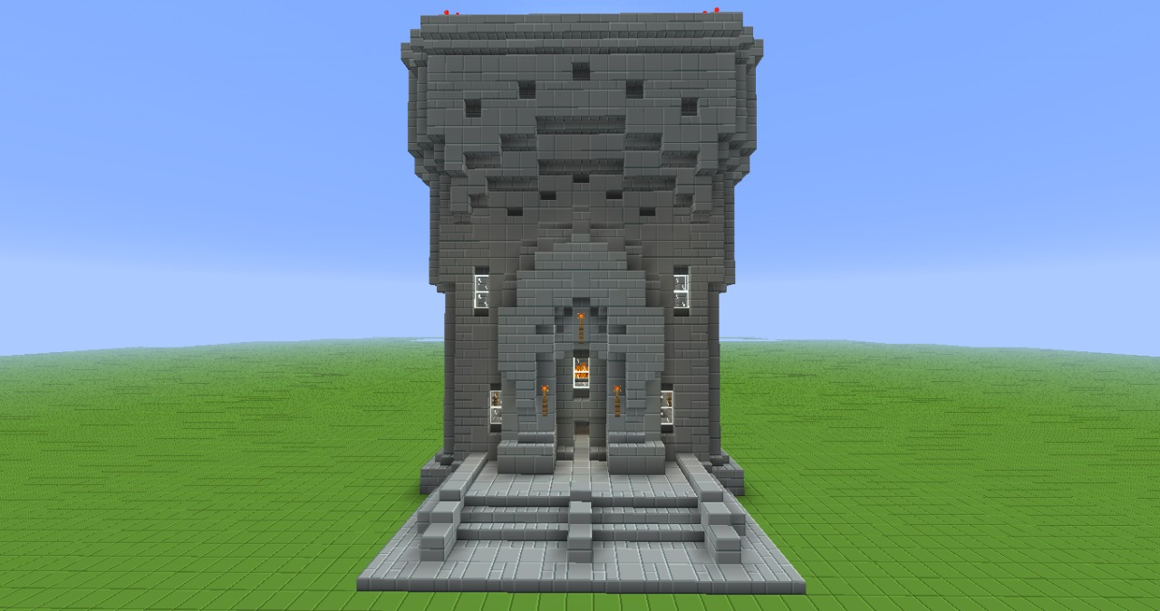 Old Factory Building Minecraft Project