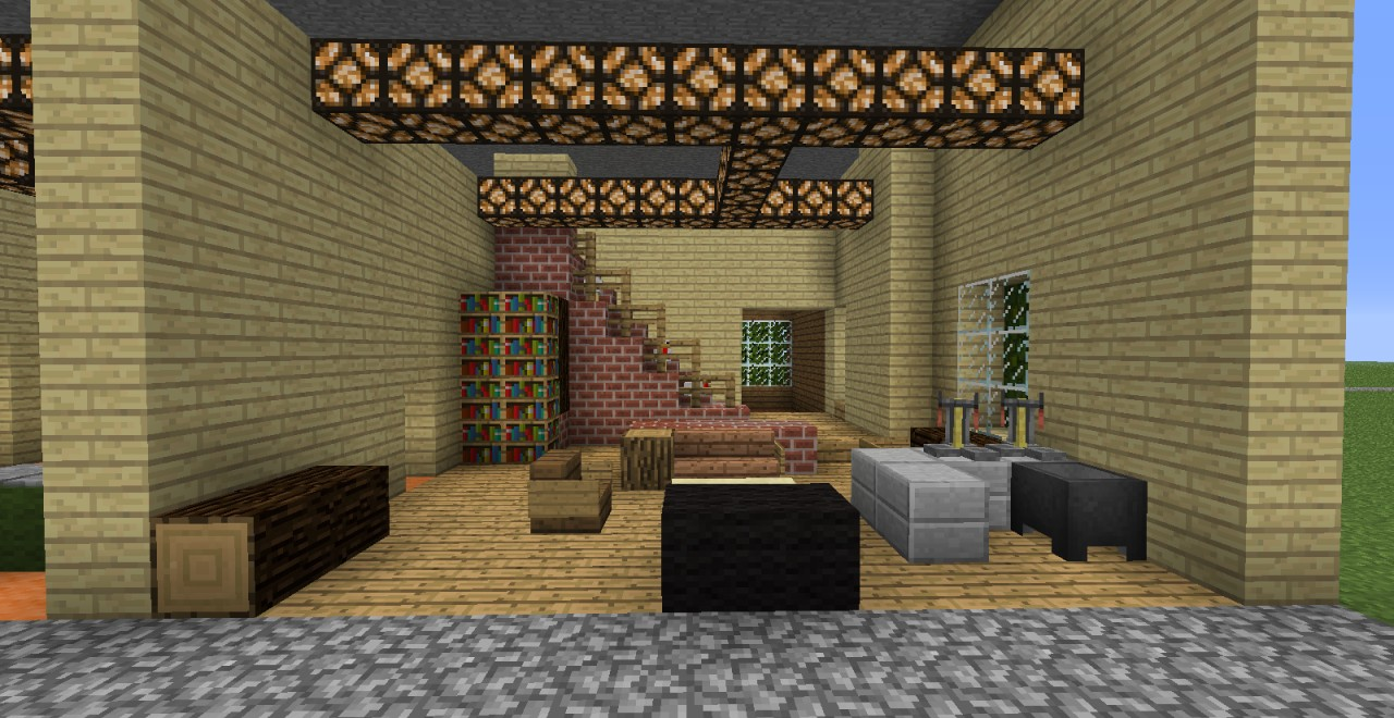 WIP That 70s Show Stage Minecraft Project