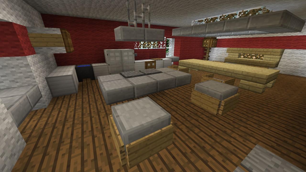 Kche  Kitchen Minecraft Project