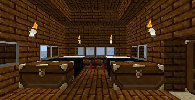 Cozy Minecraft Log cabin Minecraft Project
