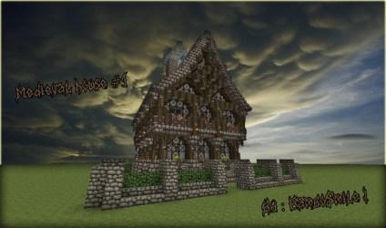 Minecraft Medieval House 5