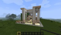 Minecraft Small Modern House Minecraft Project