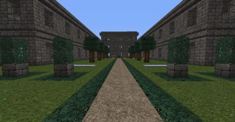 modern hall minecraft project logs update