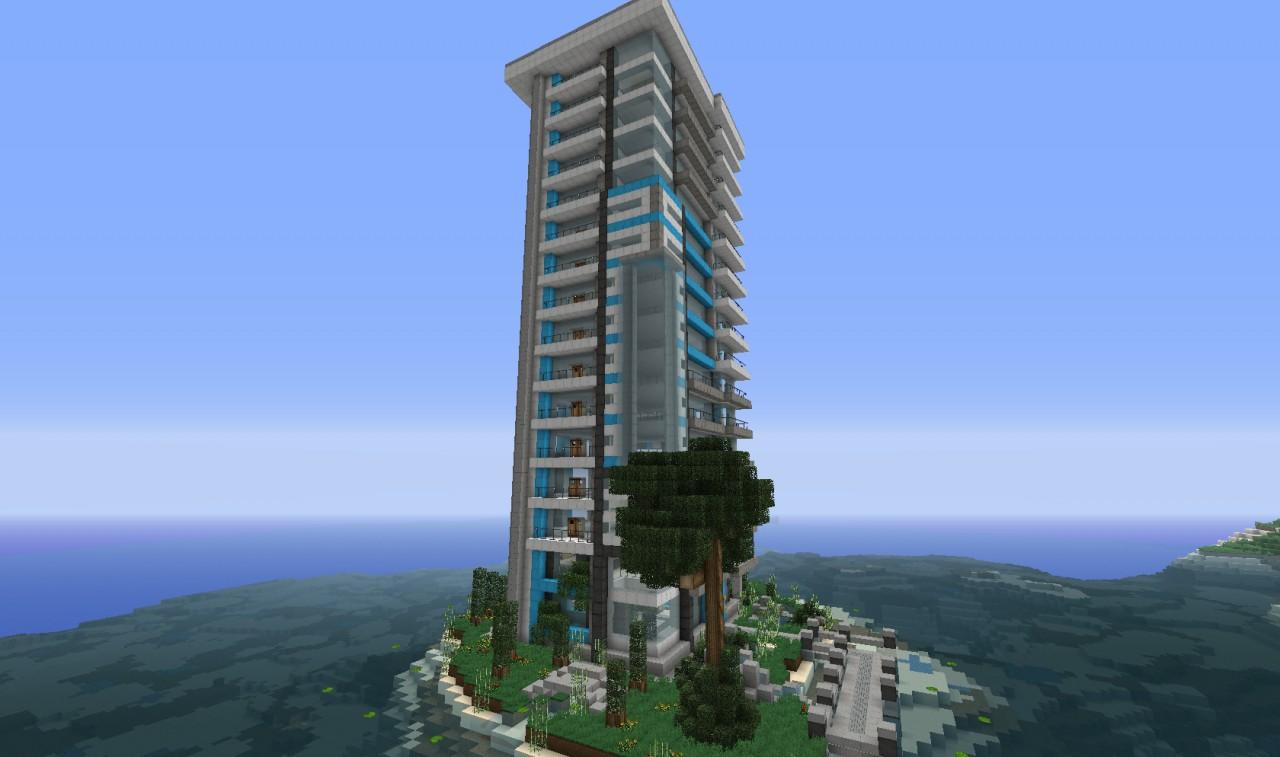 Midnight Springs A Modern Skyscraper WoK Minecraft Project