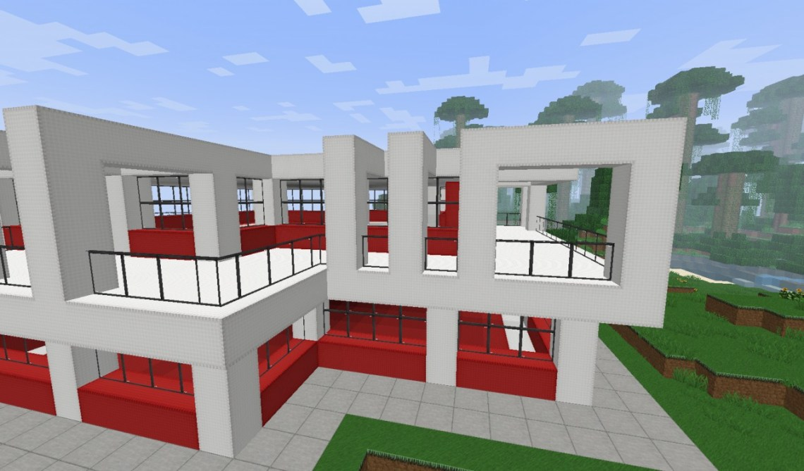 Small - Simple Modern House Minecraft Project