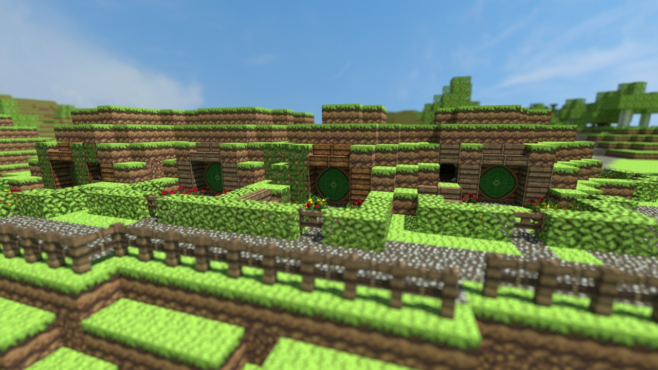 Minecraft 2012 End World