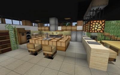 kitchen minecraft mansion minibar stijl maddison heights planetminecraft