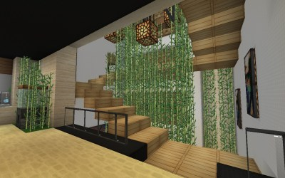 minecraft stairs mansion stijl maddison heights stairwells planetminecraft
