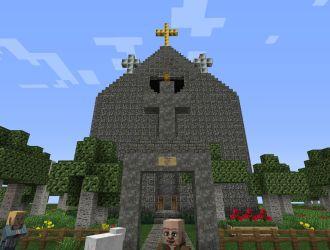 town church minecraft