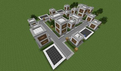 village modern minecraft project
