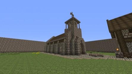 church medieval minecraft library viewer schemagic