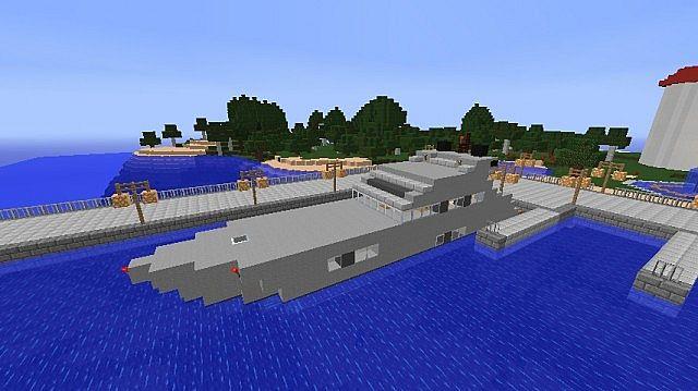 Predator 60 Luxury Performance Motor Yacht Minecraft Project