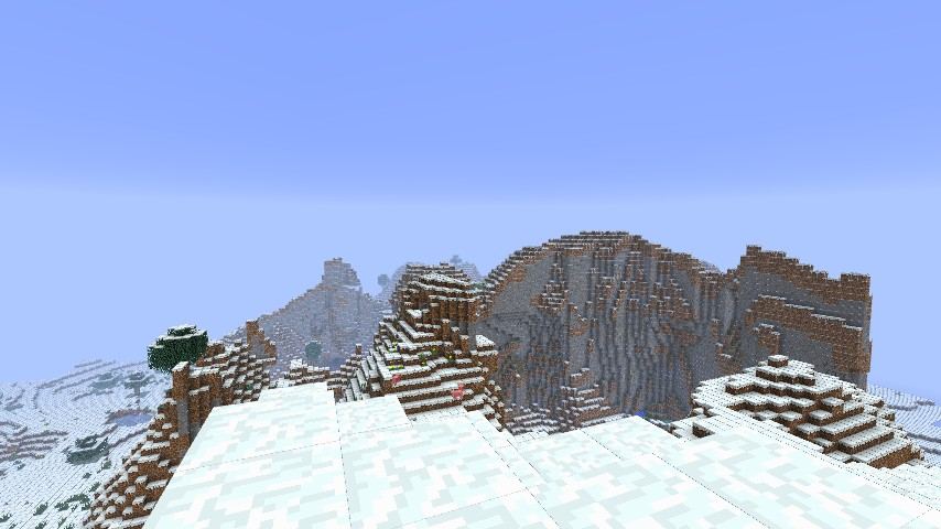 Ice Mountain Biome Seed Minecraft Blog