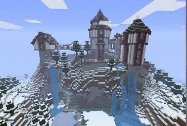 castle fairytale minecraft psy planetminecraft