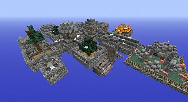 Skyblock Survival Taken To A Higher Level Minecraft Project