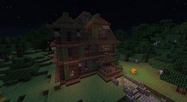 Minecraft Haunted House