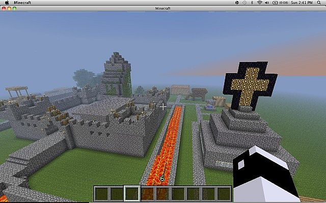 The Best Castle Ever Minecraft Project