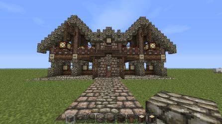 Medieval House Minecraft 3