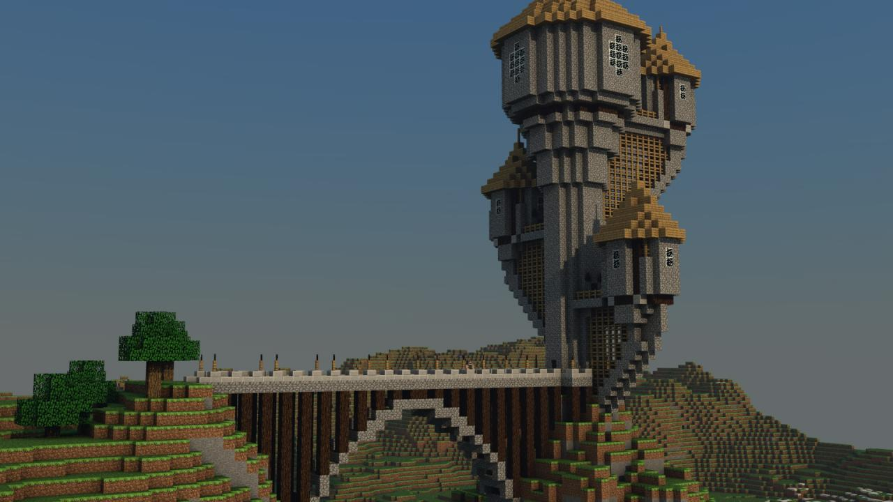 The Lonely Tower BACKGROUND Minecraft Project