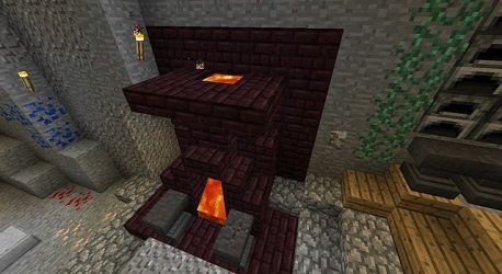 forge dwarven lava minecraft furnace map