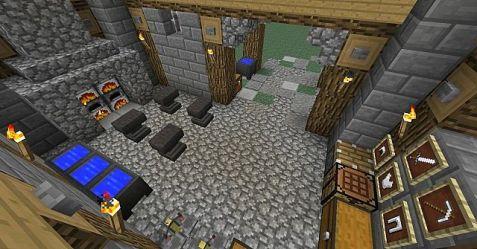 blacksmith medieval interior minecraft