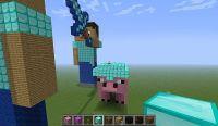 Herobrine vs Steve Minecraft Project
