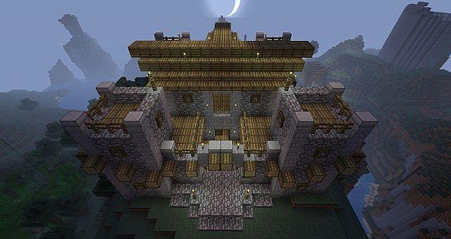 Minecraft Fort Minecraft Project