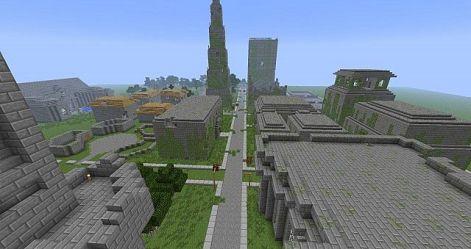 abandoned minecraft progress work map