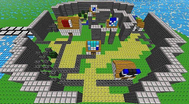Final Fantasy 1 Overworld Minecraft Project